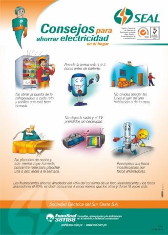 Imagenes volante tiras consejos para ahorrar electricidad - Como ahorrar agua y luz ...